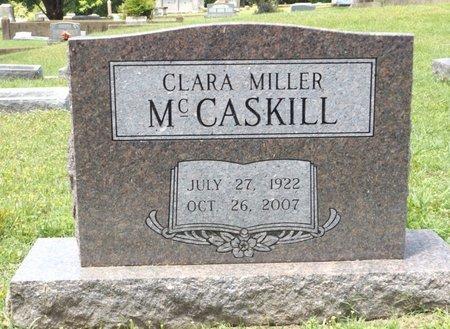 MCCASKILL, CLARA - Clark County, Arkansas   CLARA MCCASKILL - Arkansas Gravestone Photos
