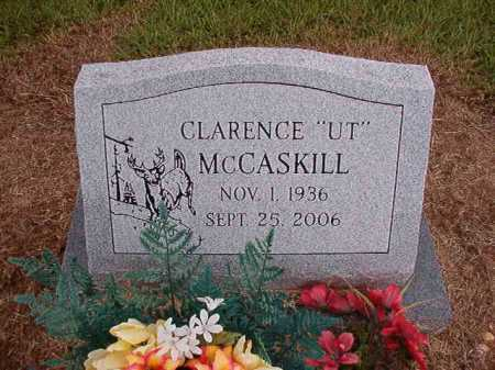 MCCASKILL, CLARENCE - Clark County, Arkansas | CLARENCE MCCASKILL - Arkansas Gravestone Photos