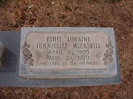 MCCASKILL, ETHEL LORAINE - Clark County, Arkansas | ETHEL LORAINE MCCASKILL - Arkansas Gravestone Photos