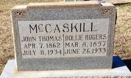 MCCASKILL, JOHN THOMAS - Clark County, Arkansas | JOHN THOMAS MCCASKILL - Arkansas Gravestone Photos