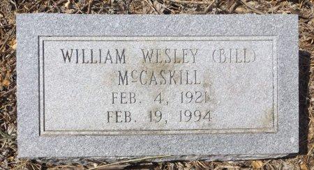 MCCASKILL, WILLIAM (BILL) - Clark County, Arkansas   WILLIAM (BILL) MCCASKILL - Arkansas Gravestone Photos