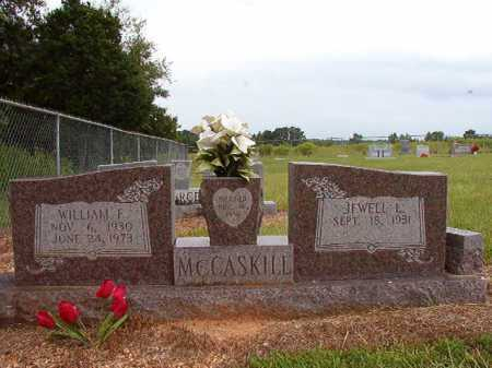 MCCASKILL, WILLIAM E. - Clark County, Arkansas   WILLIAM E. MCCASKILL - Arkansas Gravestone Photos