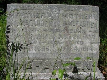 MCFADDEN, MARY ANN - Clark County, Arkansas | MARY ANN MCFADDEN - Arkansas Gravestone Photos