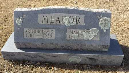 MEADOR, MAMIE - Clark County, Arkansas | MAMIE MEADOR - Arkansas Gravestone Photos