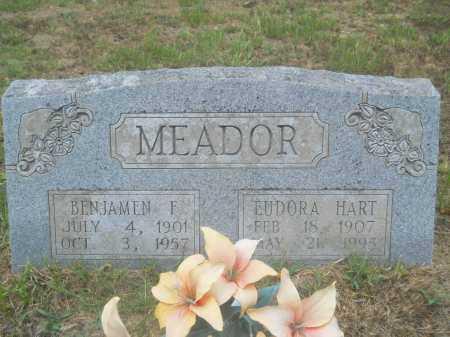 MEADOR, BENJAMEN F - Clark County, Arkansas | BENJAMEN F MEADOR - Arkansas Gravestone Photos