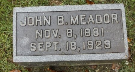 MEADOR, JOHN B - Clark County, Arkansas | JOHN B MEADOR - Arkansas Gravestone Photos