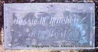 MITCHELL, JESSIE M - Clark County, Arkansas | JESSIE M MITCHELL - Arkansas Gravestone Photos