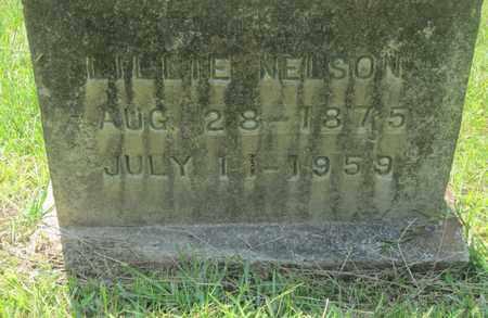 NELSON, LILLIE - Clark County, Arkansas   LILLIE NELSON - Arkansas Gravestone Photos