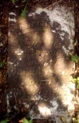 PENTECOST, MARTHA F - Clark County, Arkansas | MARTHA F PENTECOST - Arkansas Gravestone Photos