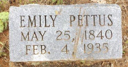PETTUS, EMILY - Clark County, Arkansas | EMILY PETTUS - Arkansas Gravestone Photos
