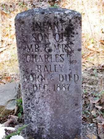 RALEY, INFANT SON - Clark County, Arkansas   INFANT SON RALEY - Arkansas Gravestone Photos