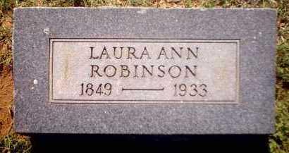 ROBINSON, LAURA ANN - Clark County, Arkansas   LAURA ANN ROBINSON - Arkansas Gravestone Photos