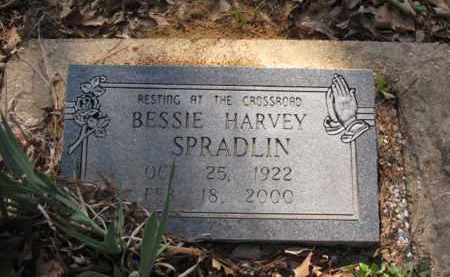 SPRADLIN, BESSIE - Clark County, Arkansas | BESSIE SPRADLIN - Arkansas Gravestone Photos