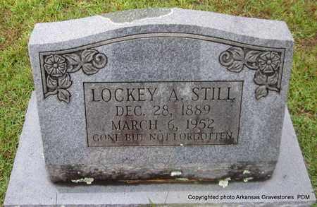 STILL, LOCKEY A - Clark County, Arkansas   LOCKEY A STILL - Arkansas Gravestone Photos