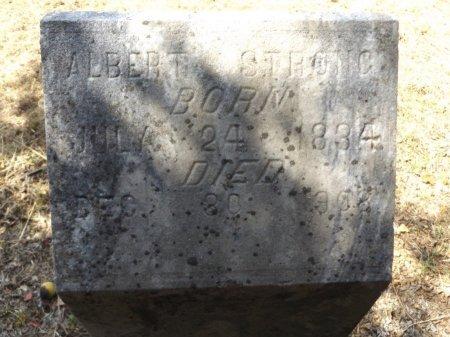 STRONG, ALBERT - Clark County, Arkansas   ALBERT STRONG - Arkansas Gravestone Photos