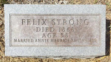 STRONG, FELIX - Clark County, Arkansas | FELIX STRONG - Arkansas Gravestone Photos