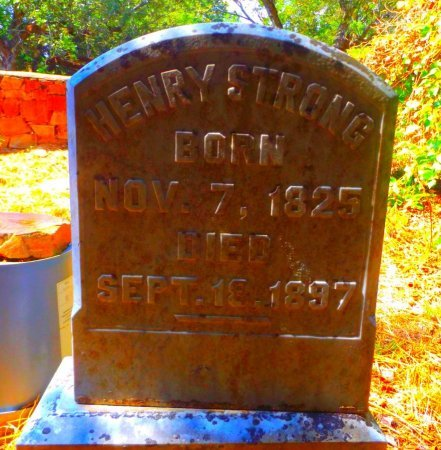 STRONG, HENRY - Clark County, Arkansas   HENRY STRONG - Arkansas Gravestone Photos