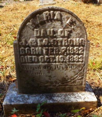 STRONG, MARIA - Clark County, Arkansas   MARIA STRONG - Arkansas Gravestone Photos