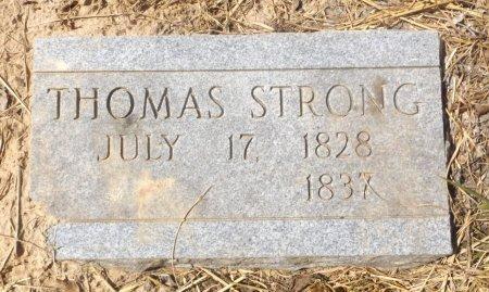 STRONG, THOMAS - Clark County, Arkansas   THOMAS STRONG - Arkansas Gravestone Photos