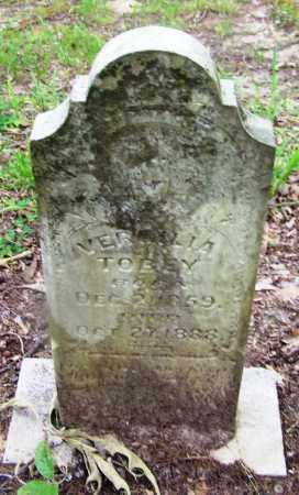 TOBEY, VERMILLA - Clark County, Arkansas   VERMILLA TOBEY - Arkansas Gravestone Photos