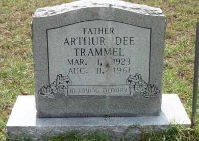 TRAMMEL, ARTHUR DEE - Clark County, Arkansas | ARTHUR DEE TRAMMEL - Arkansas Gravestone Photos