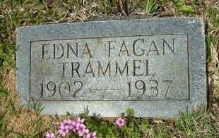 TRAMMEL, EDNA - Clark County, Arkansas | EDNA TRAMMEL - Arkansas Gravestone Photos
