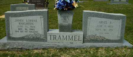 TRAMMEL, JANEY LORENE - Clark County, Arkansas | JANEY LORENE TRAMMEL - Arkansas Gravestone Photos
