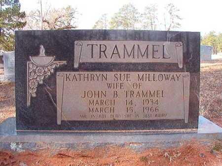 TRAMMEL, KATHRYN SUE - Clark County, Arkansas   KATHRYN SUE TRAMMEL - Arkansas Gravestone Photos