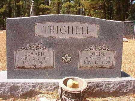 TRICHELL, EDWARD - Clark County, Arkansas   EDWARD TRICHELL - Arkansas Gravestone Photos