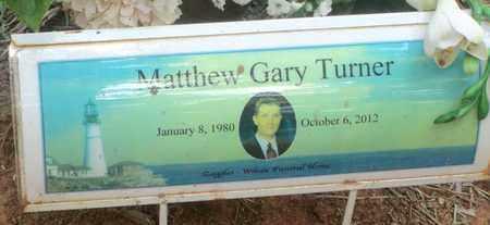 TURNER, MATTHEW GARY - Clark County, Arkansas   MATTHEW GARY TURNER - Arkansas Gravestone Photos