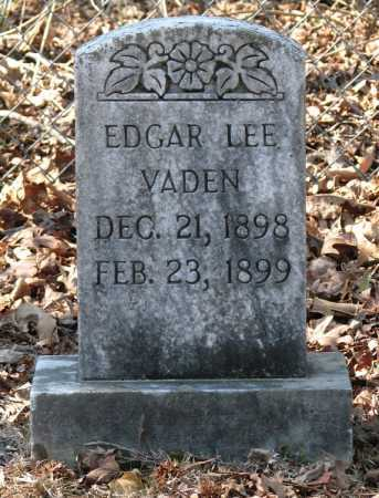 VADEN, EDGAR LEE - Clark County, Arkansas | EDGAR LEE VADEN - Arkansas Gravestone Photos
