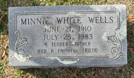 WHITE, MINNIE - Clark County, Arkansas | MINNIE WHITE - Arkansas Gravestone Photos