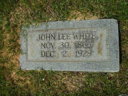WHITE, JOHN LEE - Clark County, Arkansas   JOHN LEE WHITE - Arkansas Gravestone Photos