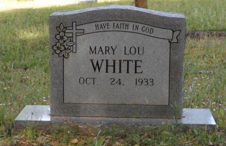 WHITE, MARY LOU - Clark County, Arkansas | MARY LOU WHITE - Arkansas Gravestone Photos