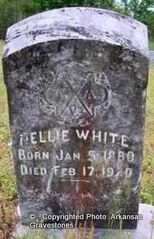 WHITE, NELLIE - Clark County, Arkansas | NELLIE WHITE - Arkansas Gravestone Photos