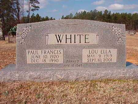 WHITE, LOU ELLA - Clark County, Arkansas | LOU ELLA WHITE - Arkansas Gravestone Photos