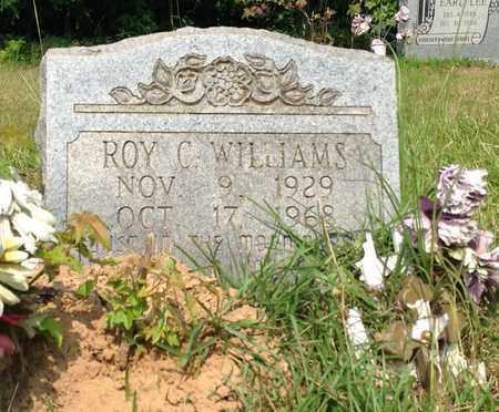 WILLIAMS, ROY C - Clark County, Arkansas   ROY C WILLIAMS - Arkansas Gravestone Photos
