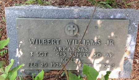 WILLIAMS, JR  (VETERAN KOR), WILBERT - Clark County, Arkansas | WILBERT WILLIAMS, JR  (VETERAN KOR) - Arkansas Gravestone Photos