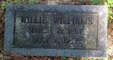 WILLIAMS, WILLIE - Clark County, Arkansas   WILLIE WILLIAMS - Arkansas Gravestone Photos