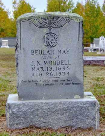 WOODALL, BEULAH MAY - Clark County, Arkansas   BEULAH MAY WOODALL - Arkansas Gravestone Photos