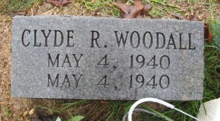 WOODALL, CLYDE R - Clark County, Arkansas | CLYDE R WOODALL - Arkansas Gravestone Photos