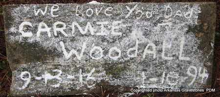 WOODALL, CARMIE - Clark County, Arkansas | CARMIE WOODALL - Arkansas Gravestone Photos