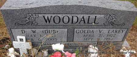 "WOODALL, D W ""DUB"" - Clark County, Arkansas | D W ""DUB"" WOODALL - Arkansas Gravestone Photos"