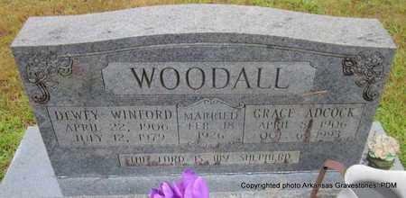 WOODALL, GRACE - Clark County, Arkansas | GRACE WOODALL - Arkansas Gravestone Photos