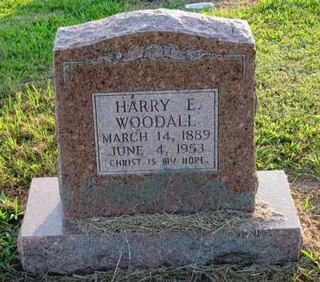 WOODALL, HARRY E - Clark County, Arkansas | HARRY E WOODALL - Arkansas Gravestone Photos