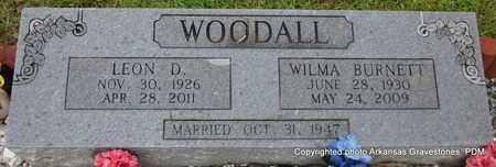 WOODALL, LEON D - Clark County, Arkansas | LEON D WOODALL - Arkansas Gravestone Photos