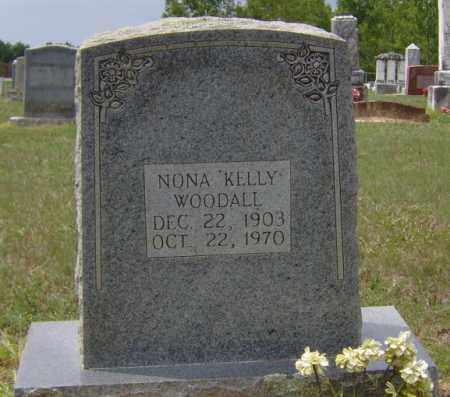 """WOODALL, NONA """"KELLY"""" - Clark County, Arkansas   NONA """"KELLY"""" WOODALL - Arkansas Gravestone Photos"""