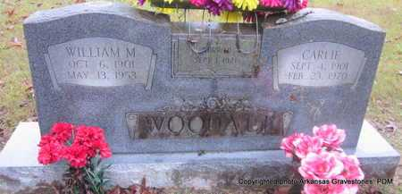 WOODALL, CARLIE - Clark County, Arkansas | CARLIE WOODALL - Arkansas Gravestone Photos