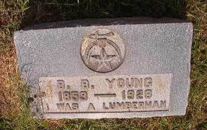 YOUNG, BENNETT B - Clark County, Arkansas | BENNETT B YOUNG - Arkansas Gravestone Photos
