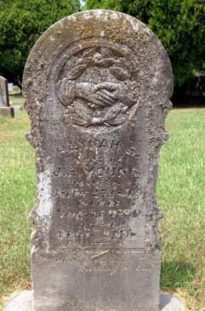 YOUNG, HANNAH - Clark County, Arkansas | HANNAH YOUNG - Arkansas Gravestone Photos